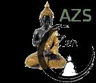 logo AZS, Bouddha et zazen