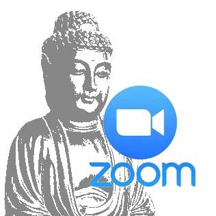 zazen avec zoom